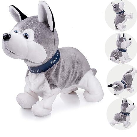 Amazon Com Interactive Puppy Plush Animated Pet Electronic Dog Cute