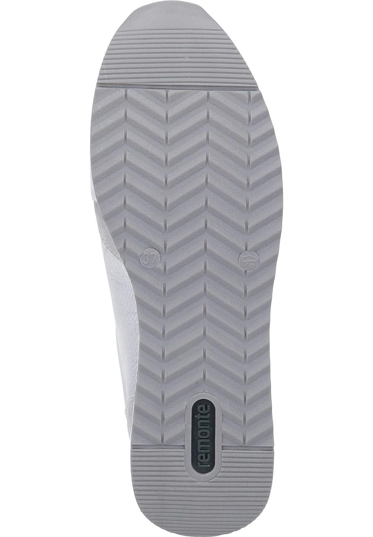 Remonte R7025 Damen Low Halbschuh Sportschuh Schnürschuh Schnürschuh Schnürschuh atmungsaktiv lose Einlage sehr leichte Schalensohle Leder mit floralem Print 1da779