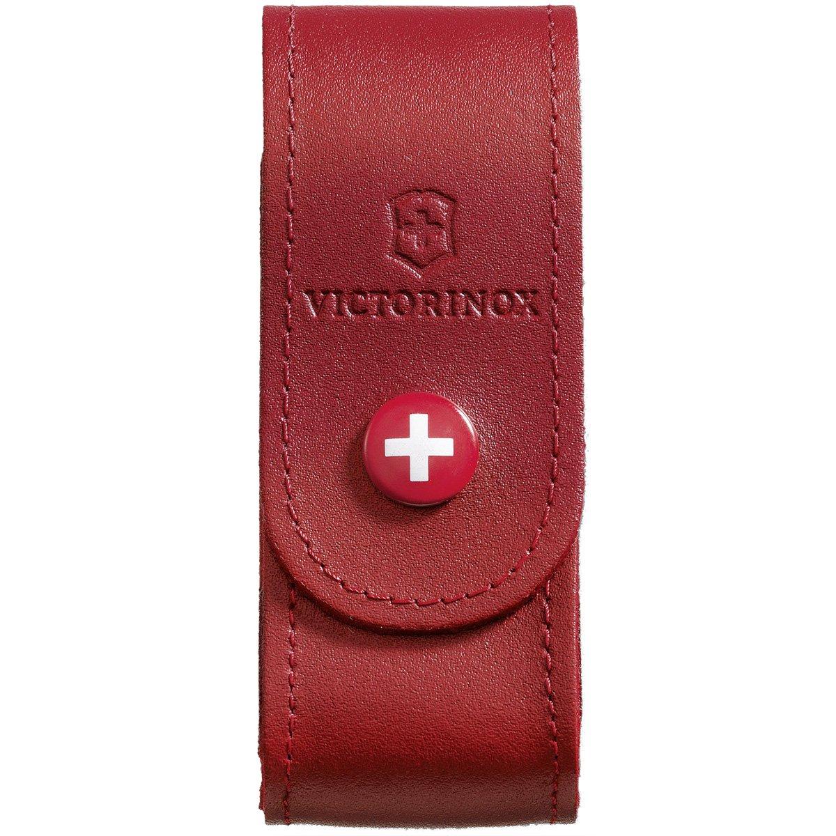 Victorinox Zubehö r Gü rteletui Leder rot Mantel LISYY #Victorinox 4052010