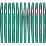 Paper Mate Flair Felt Tip Pens, Medium Point 0.7mm, Limited Edition Candy Pop, Gummy Green Ink, Pack of 12