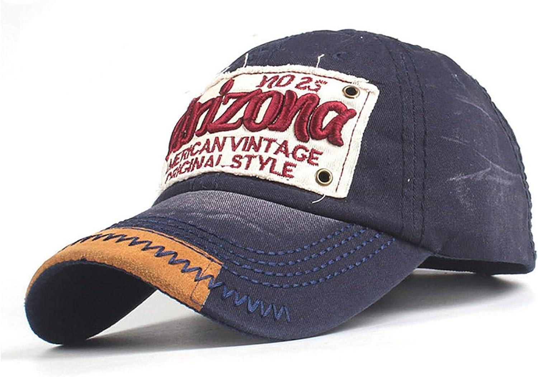 Newly Retro 3D Embroidered Letter Denim Jeans Baseball Caps Women Men Boys Girls Summer Hat