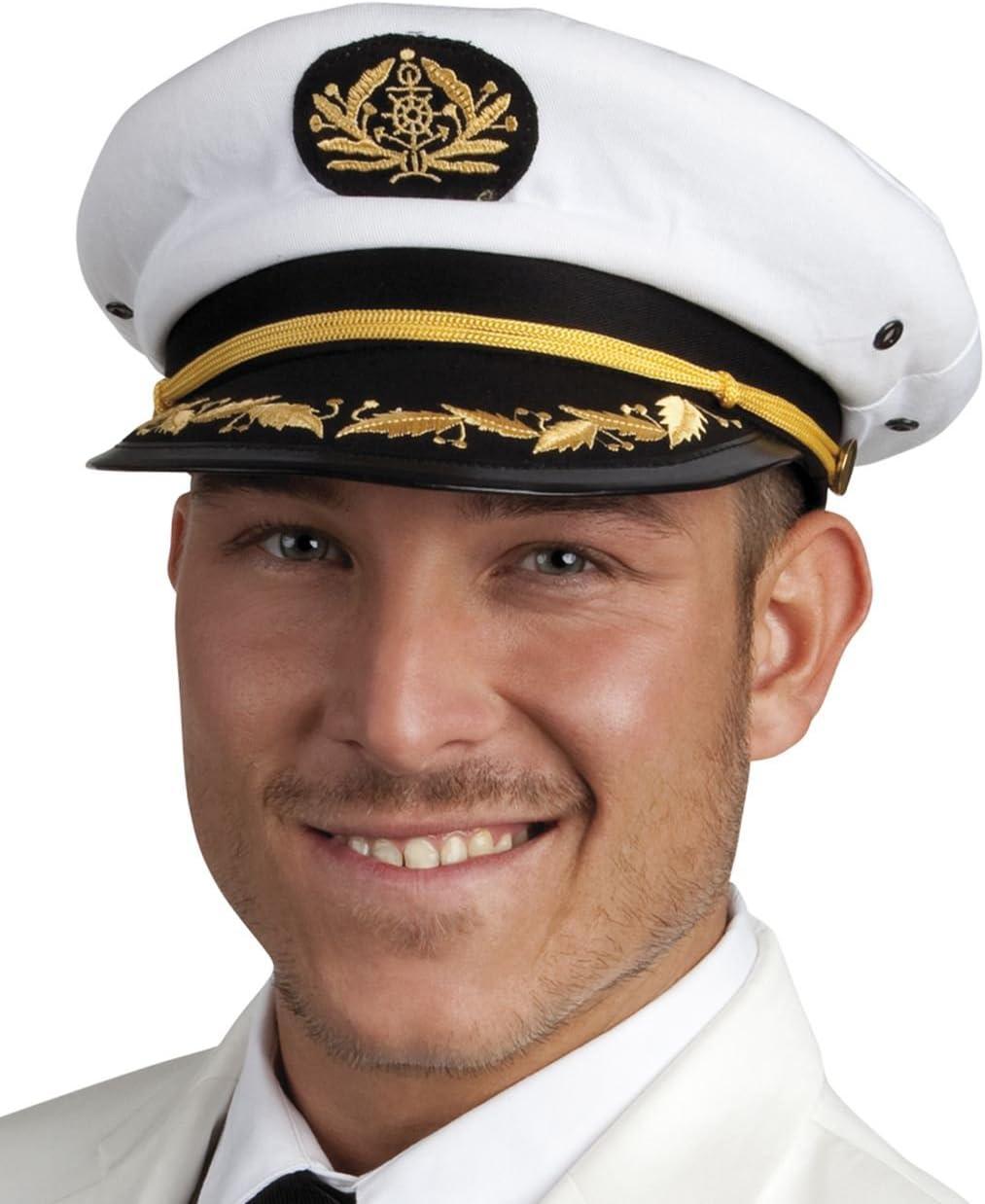 Boland - Código 44372 - Gorra de capitán de barco, unisex -Para ...