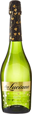 Don Luciano Brut - Vino Espumoso, Pack de 6 Botellas x 750 ml, Volumen de Alcohol 11%