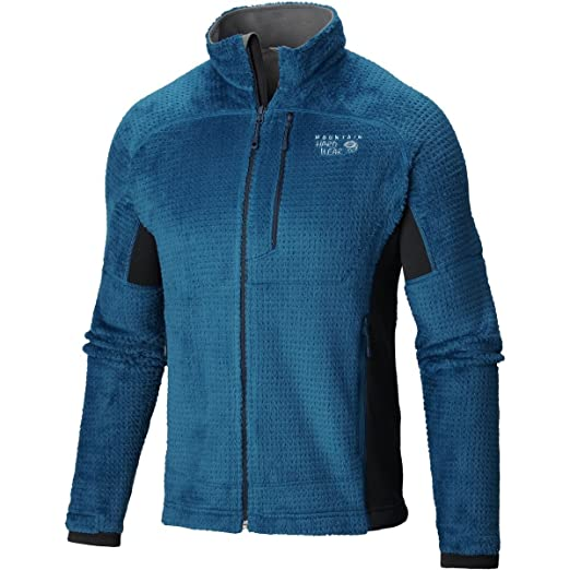 383d157b4f75 Mountain Hardwear Men's Monkey Man Grid II Jacket, Phoenix Blue, Shark, ...