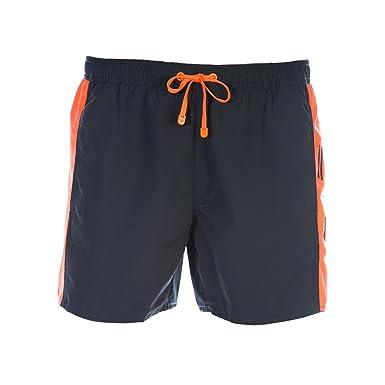 dc494c4903 Emporio Armani EA7 Colour Block Swim Short in Black XL: Amazon.co.uk:  Clothing