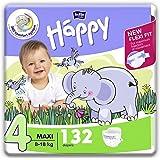 Maxi Plus 9-20 kg  62 oder 248 Stück Happy Bella Baby Windeln Gr 4
