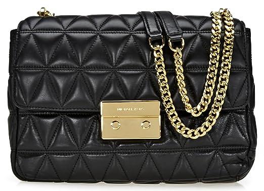 effc6307aa37 MICHAEL Michael Kors Sloan Extra-Large Chain Shoulder Bag  Amazon.co.uk   Clothing