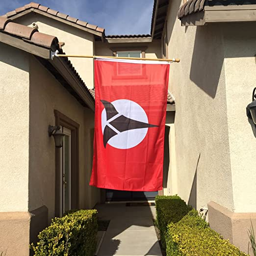 Star Trek United Federation of Planets Banner Flag fans Country National Party