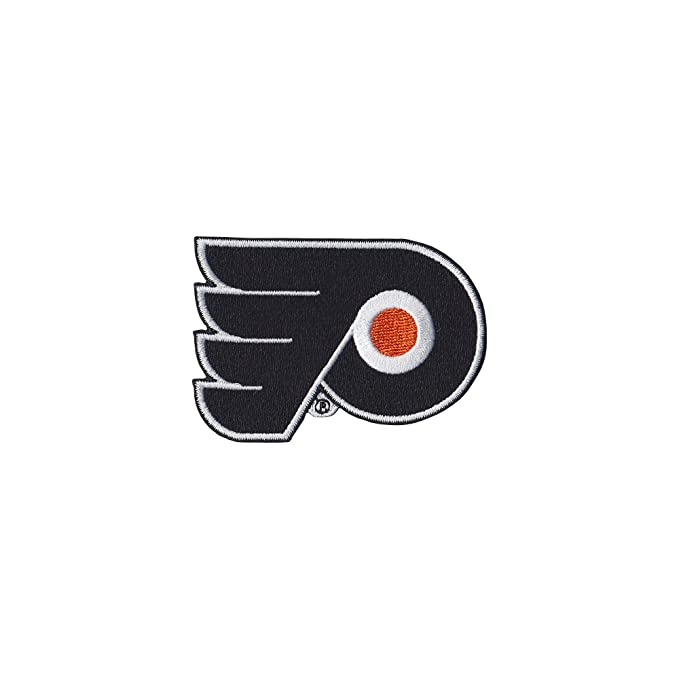 Emblem Tervis 1066955NHL Phila Flyers Water Bottle with Grey Lid 24 oz Clear
