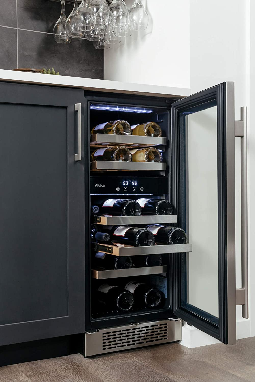 "Avallon AWC151DZRH 23 Bottle 15"" Dual Zone Built-In Wine ..."