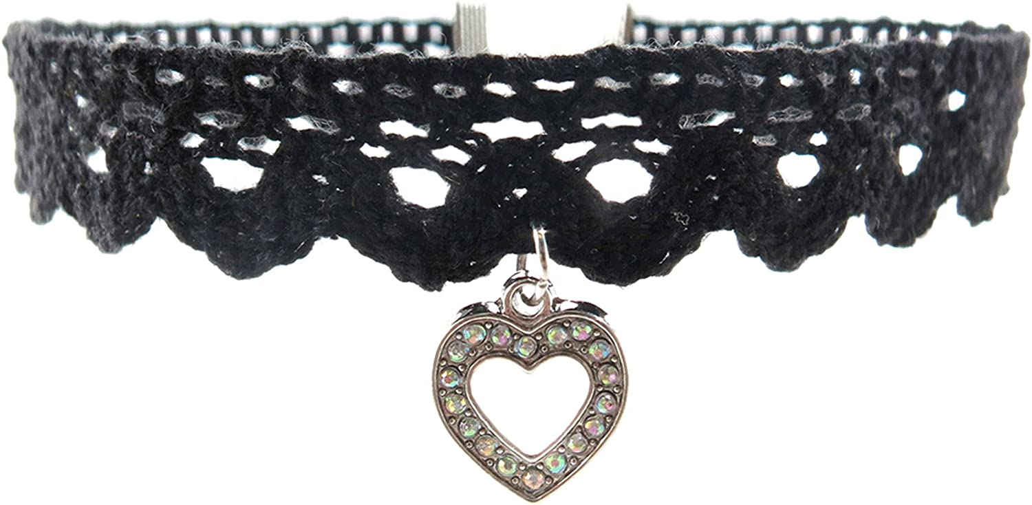 Frogsac Lace Chokers With...