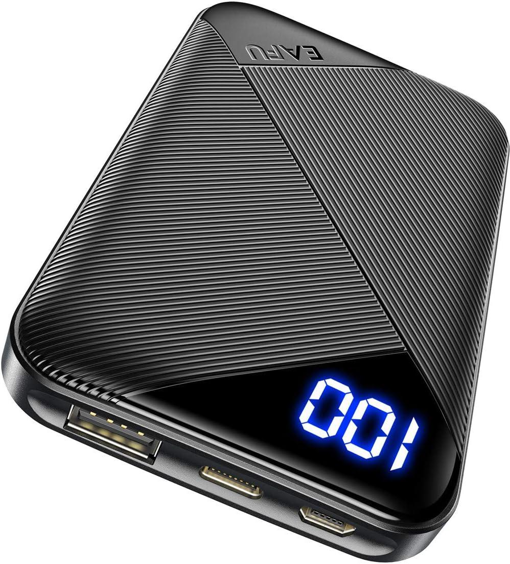 KIT 6000mAh Portable Dual USB LED Light