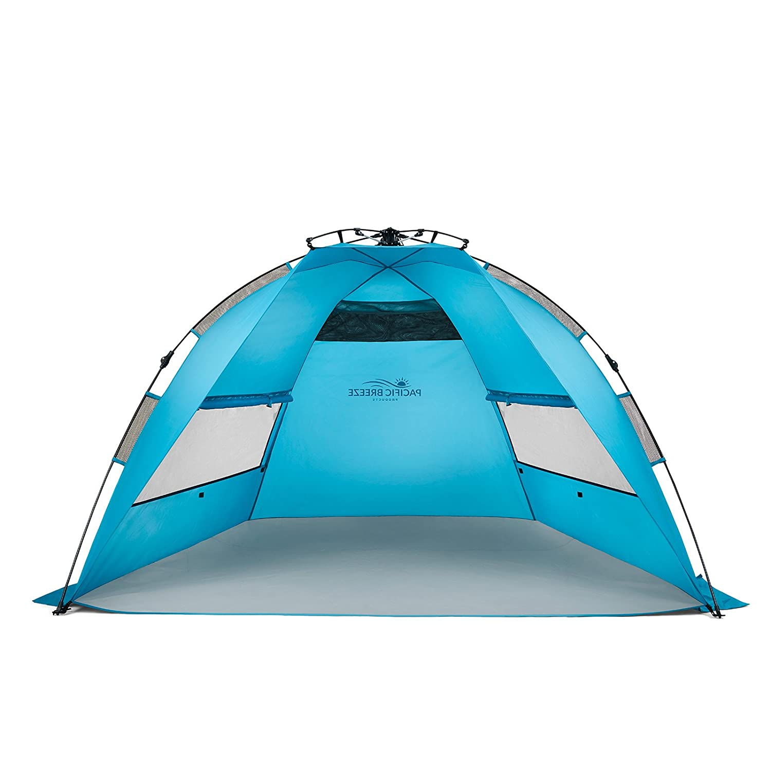 sc 1 st  Amazon.com & Amazon.com: Pacific Breeze Easy Up Beach Tent: Sports u0026 Outdoors