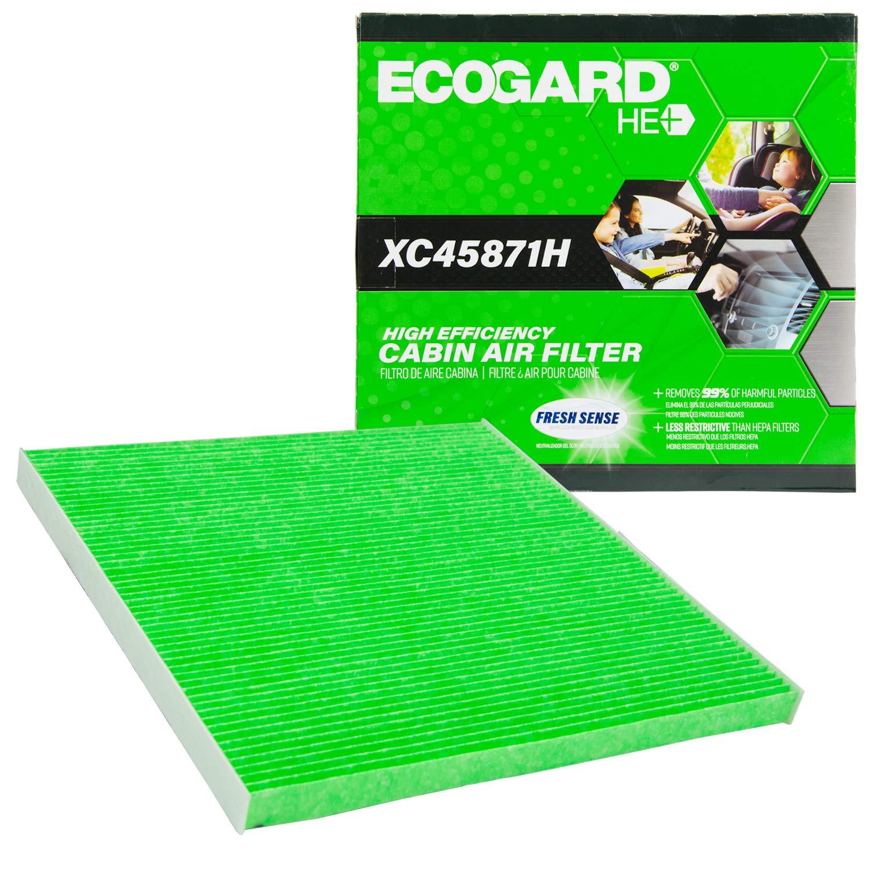 Quest Murano EcoGard XC45871H High Efficiency Premium Cabin Air Filter Baking Soda Fits Nissan Altima Maxima