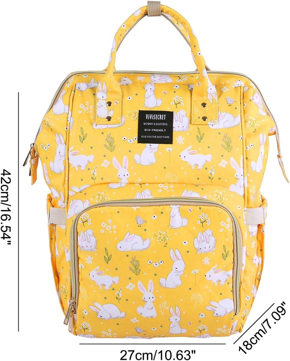 2#BlueBear,11L SellerFun Waterproof Multi-Function Mummy Fashion Diaper Bag Nappy Backpack Handbag Tote Bag