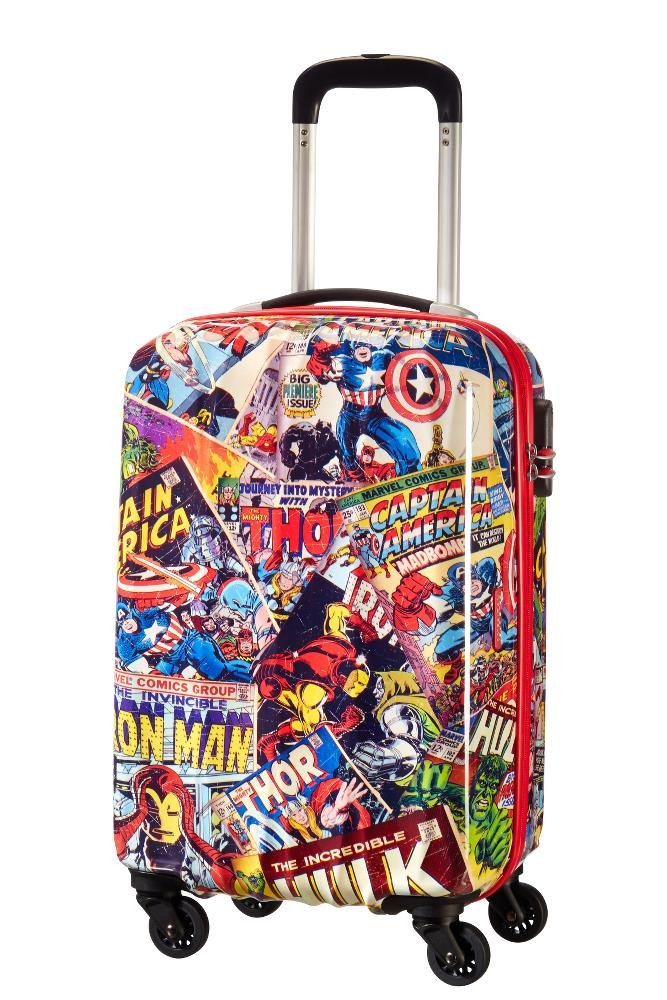 American tourister - American Tourister - Disney Marvel Legends - Spinner 55/20 Alfatwist 2.0 Children's Luggage, 55 cm, 36 liters, Multicolour (Marvel Comics) 92690/4528