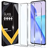 EGV 3 Pack Screen Protector Compatible with OnePlus 9, 9H [Not for Oneplus 9 Pro] Hardness Tempered Glass, Bubble Free, Easy