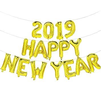 Happy New Year Balloons 23