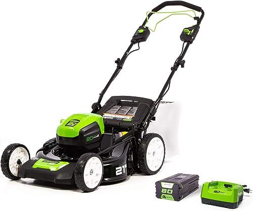 Greenworks Pro 80V MO80L410 Review