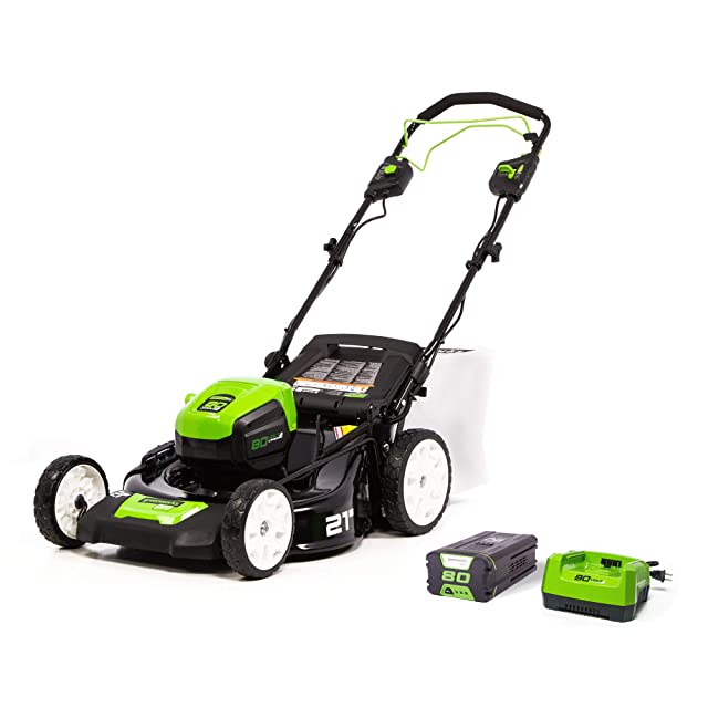 Greenworks MO80L410 Pro Brushless Self-Propelled Lawn Mower