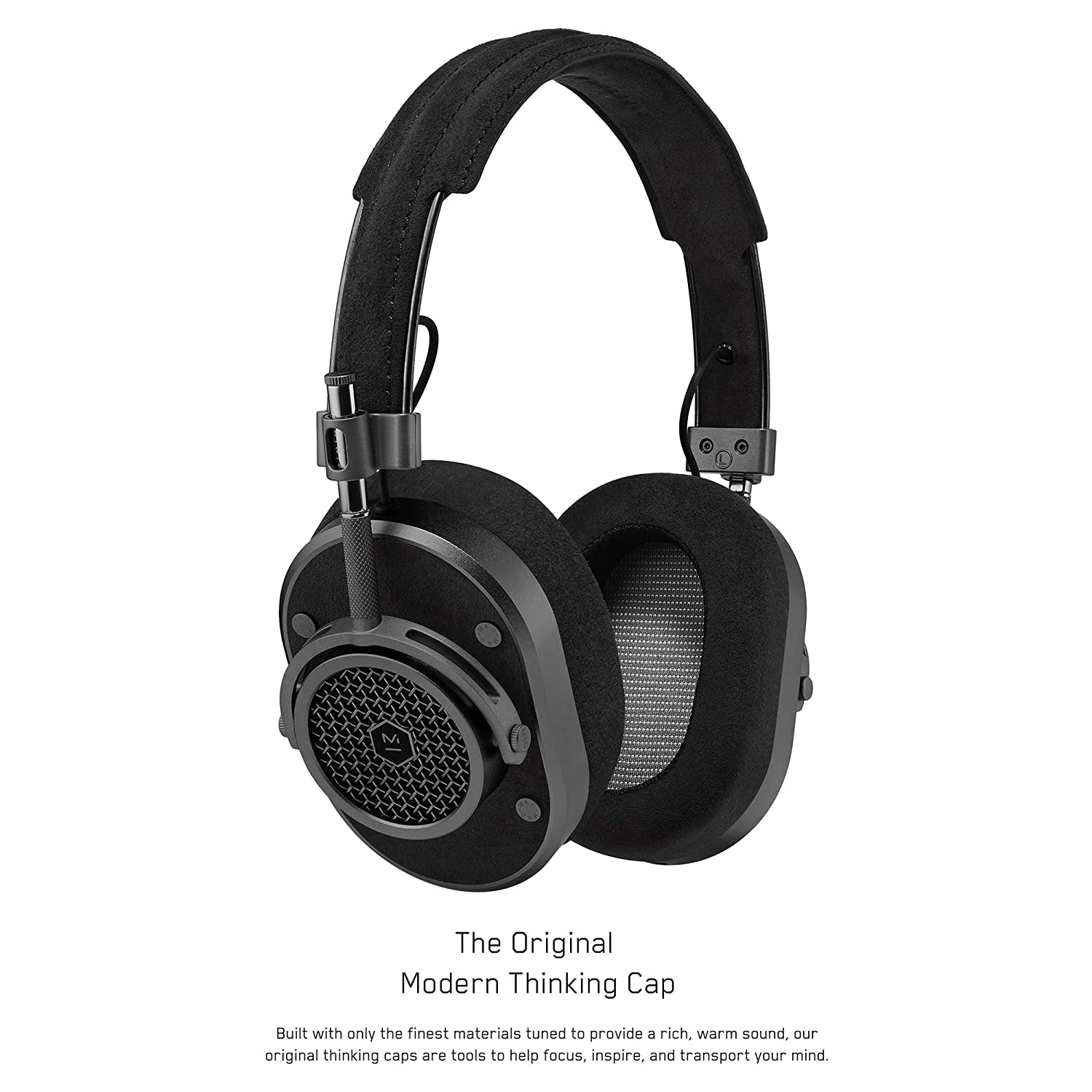 df9036b6d97 Amazon.com: Master & Dynamic Award Winning MH40 Over-Ear, Closed Back  Headphones with Superior Sound Quality and Highest Level of Design: Home &  Kitchen