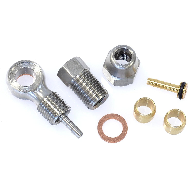 ALHONGA 35407 Kit reparacion latiguillo cable freno disco hidraulico Formula