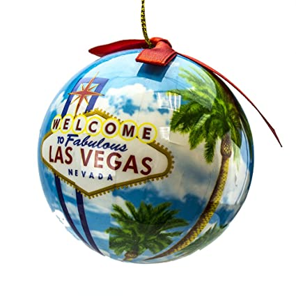 Amazon.com: Rockin Gear Christmas Ornament Hanging Ball Las Vegas Gift  'Welcome to Fabulous Las Vegas Nevada' Decorative Ornament and Gift: Home &  Kitchen - Amazon.com: Rockin Gear Christmas Ornament Hanging Ball Las Vegas
