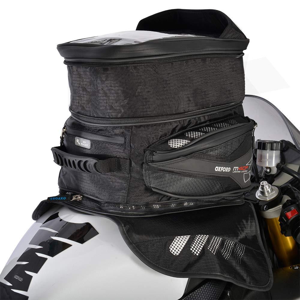 M40R Magnetic Mount Motorcycle Oxford OL205 Black 40 L Tank Bag
