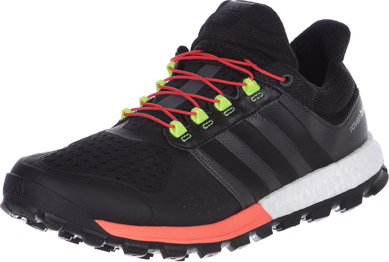 esposa Húmedo Pendiente  Amazon.com | adidas Adistar Raven Boost Trail Running Shoes - AW15-13 -  Black | Running