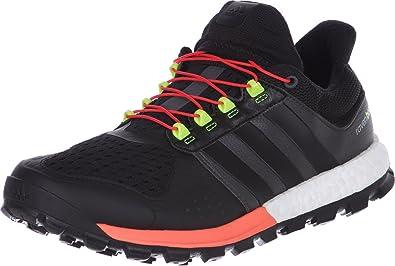 Personal Interpretativo Enemistarse  Amazon.com | adidas Adistar Raven Boost Trail Running Shoes - AW15-13 -  Black | Running