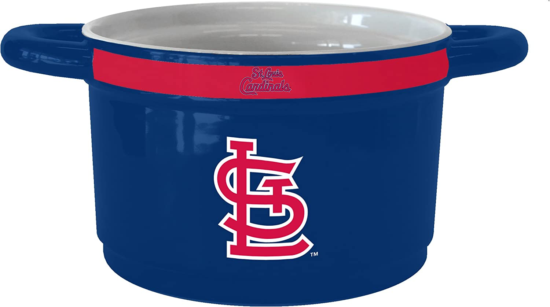 MLB St Louis Cardinals 23-Ounce Sculpted Gametime Bowl