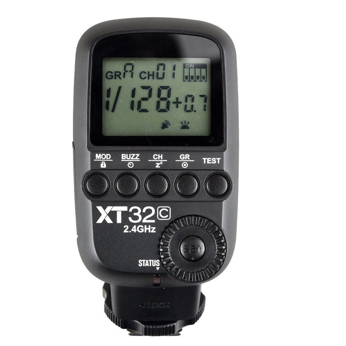 Godox XT32-C 2.4G Wireless Power-Control Flash Trigger, High Speed Sync 1/8000s, 32 Channel 16 Groups for Canon EOS Digital Camera by Godox
