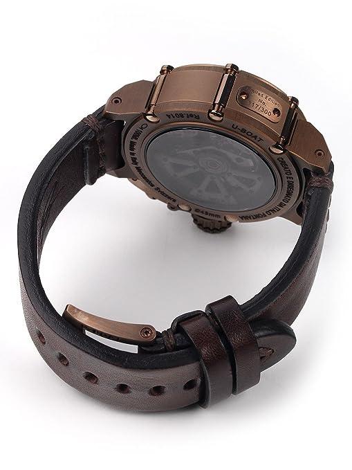 Reloj Automático U-Boat Chimera, Bronce, 43mm, Edición Limitada, 8014: Amazon.es: Relojes