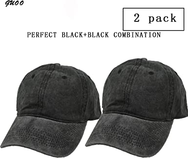 Plain Solid Washed Cotton Polo Style Baseball Ball Cap Caps Hat Adjustable Orchi