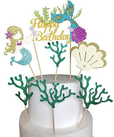 Amazon.com: Alissar - Decoración para tarta de cumpleaños ...