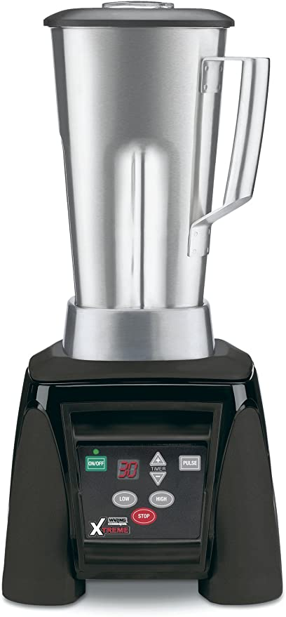 Waring Commercial Mx1100xts Hi Power Electronic Keypad Blender With Timer And Stainless Steel Container 64 Ounce Industrial Scientific