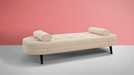 Amazon.com: Sandy Wilson Home S65070-996 Brio Sofa Bed Crème ...
