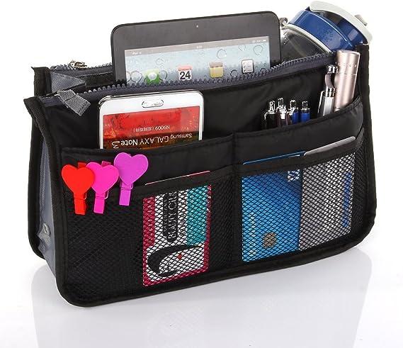 Purse Organizer Insert Handbag Make Up Bag Pouch Purse Pouch Tidy & Neat
