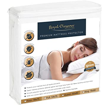 allerease bed bug mattress protector queen pillow covers target deluxe collection premium bugs cover hypoallergenic allergen pest for box spring