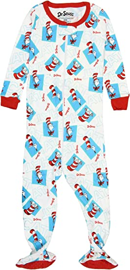 Two Fish Pajama Sleeper Seuss One INTIMO Baby Girls Infant Dr