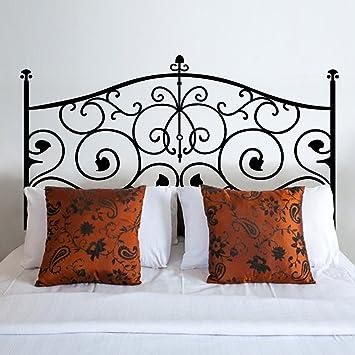 Vinilo adhesivo para pared Cabecero de cama cabecero de cama adhesivo decorativo para pared para rey