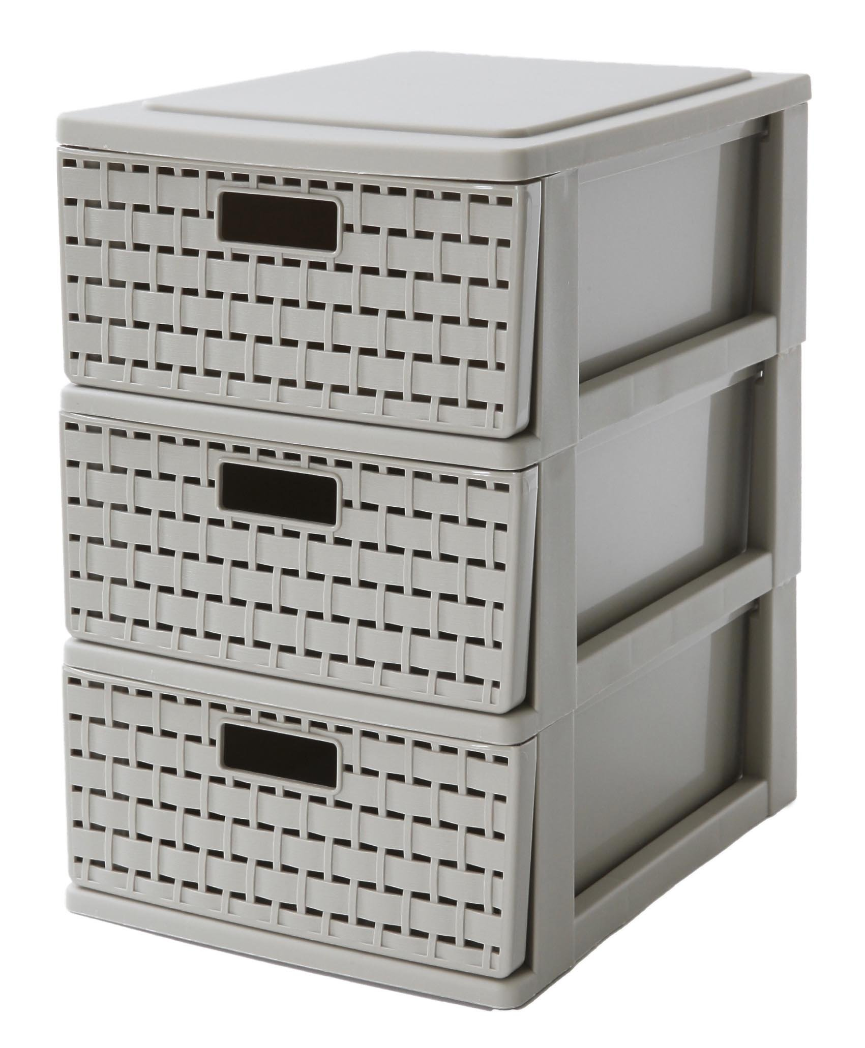 Sundis Country Tower Storage Drawer, Beige, A6