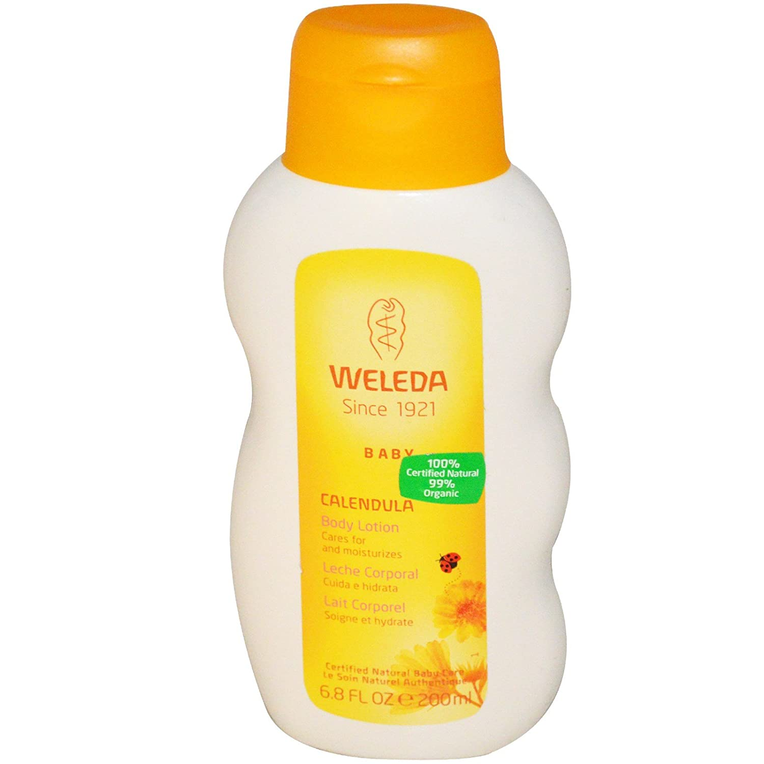 Amazon.com: Weleda All Natural Organic Calendula and Almond Gentle Baby Shampoo & Baby Wash and Baby Lotion Bundle With Chamomile and Cocoa Butter for Extra ...