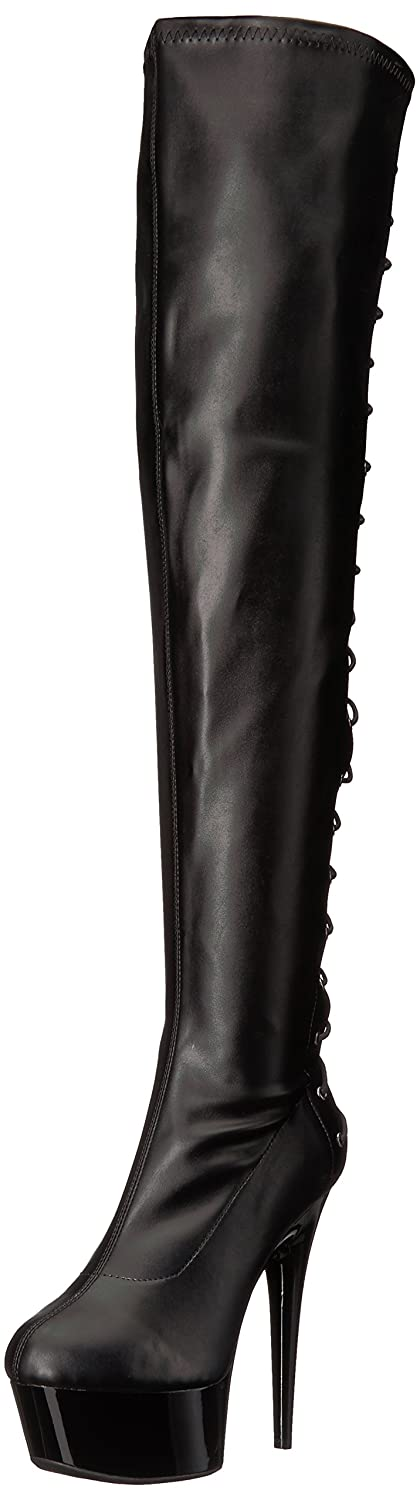 Ellie Shoes Women's 609-Fare Engineer Boot B071R33FJX 7 B(M) US|Black Polyurethane