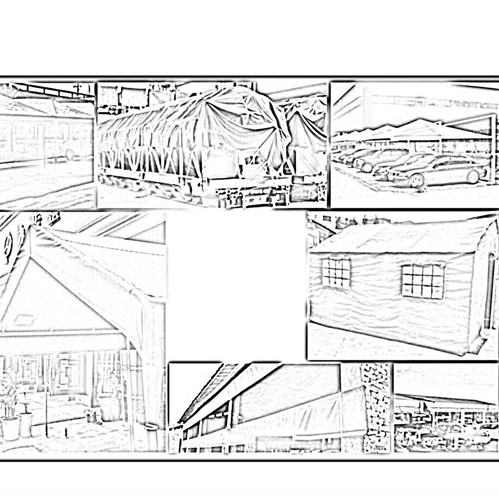MONFS MONFS MONFS Home Regenschutztuch wasserdichter Planen-LKW Regenschutz-Sonnenschutzplanen-Sonnenschutz im Freien staubdichte Picknickmatte tragbare und haltbare Streifen (Farbe   grau, Größe   4x6M) B07PT3T9BQ Zelte Sehr gelobt und vom Publikum der Verbraucher g 4dc3e5