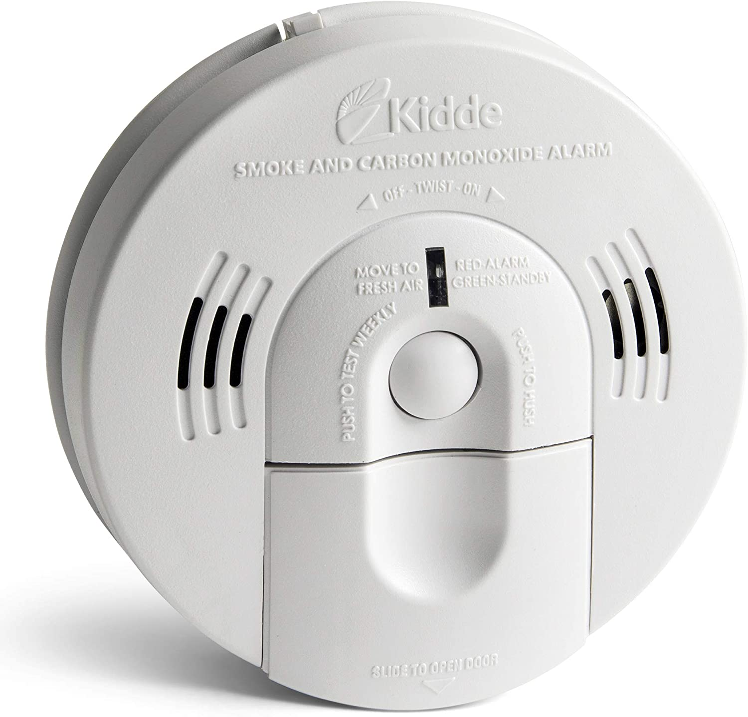 Kidde Smoke And Carbon Monoxide Detector Alarm With Voice Warning Hardwired W Battery Backup Interconnectable Model Kn Cosm Iba Amazon Com