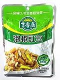 吉香居 泡椒豇豆 辛口 漬物 咸菜 味付けザーサイ おつまみ 惣菜 80g 中華物産食品