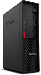 Lenovo ThinkStation P330 SFF Workstation Desktop (Intel Xeon E-2224G 4-Core, 32GB RAM, 2TB PCIe SSD + 1TB HDD (3.5), Intel UHD P630, 3xUSB 3.1, 3 Display Port (DP), SD Card, Optical Drive, Win 10 Pro)