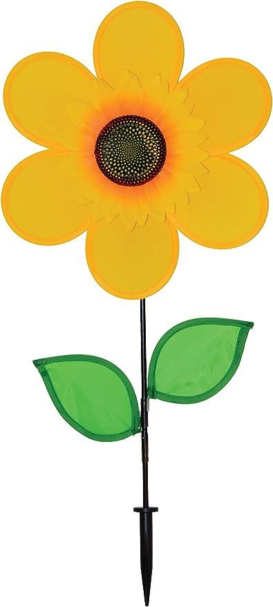 Amazon Com In The Breeze 2791 Yellow Sunflower 12 Inch Garden Outdoor