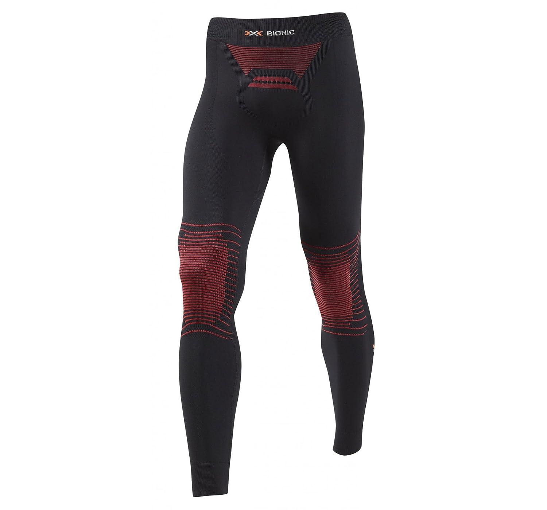 X-bionic Pantalon largo mk2 energizer hombre negro/rojo